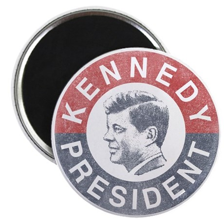 "JFK for President 2.25"" Magnet (100 pack)"