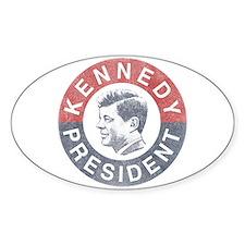 JFK for President Decal