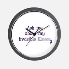 Invisible Illness - Lupus Wall Clock