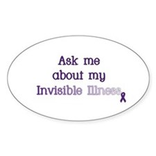 Invisible Illness - Lupus Decal