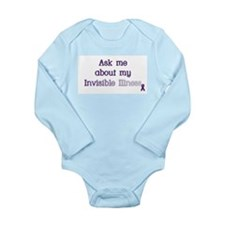 Invisible Illness - Lupus Long Sleeve Infant Bodys