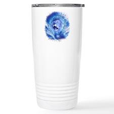 Cute Blue flame Travel Mug