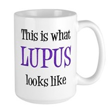 This is what Lupus looks like Mug