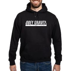 Obey Gravity Hoodie (dark)