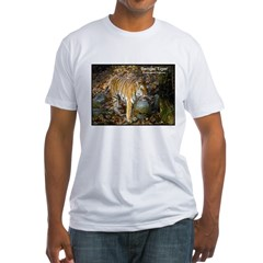 Bengal Tiger Photo (Front) Fitted T-Shirt