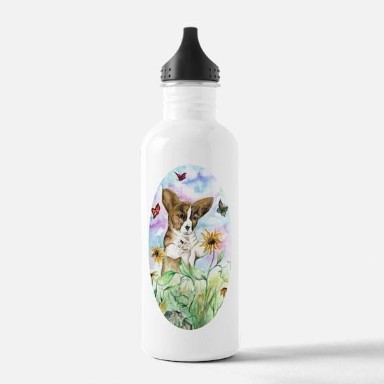 Corgi Dog Welsh Pembroke Water Bottle