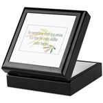For everything there is a season Keepsake Box