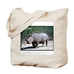 White Rhino Rhinoceros Photo Tote Bag