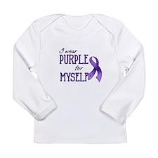Wear Purple - Myself Long Sleeve Infant T-Shirt