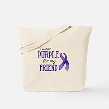 Wear Purple - Friend Tote Bag