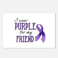 Wear Purple - Friend Postcards (Package of 8)