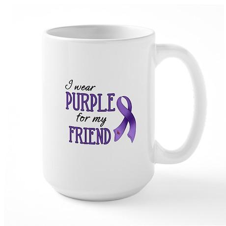 Wear Purple - Friend Large Mug