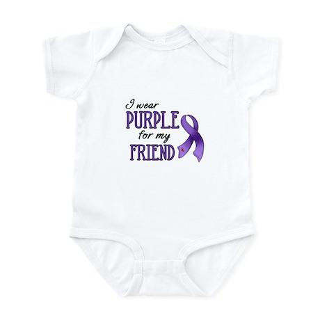 Wear Purple - Friend Infant Bodysuit