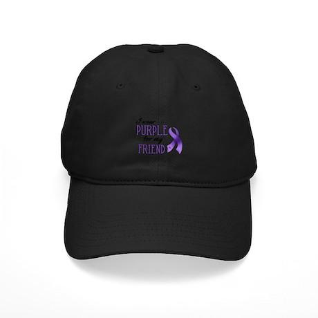 Wear Purple - Friend Black Cap