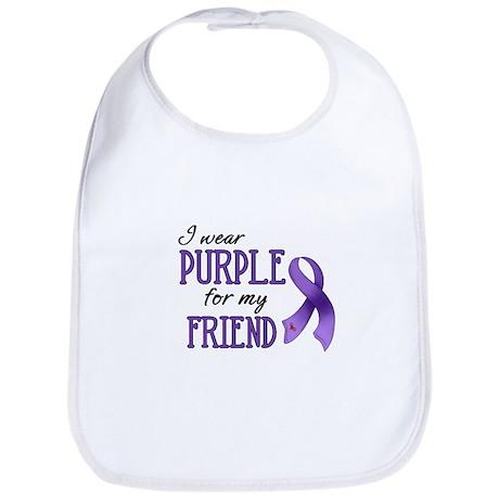 Wear Purple - Friend Bib