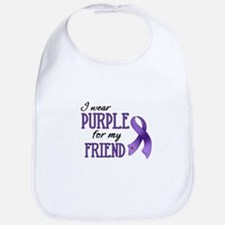 Wear Purple - Friend Bib