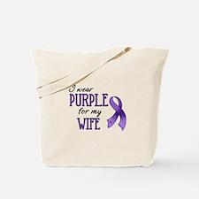 Wear Purple - Wife Tote Bag