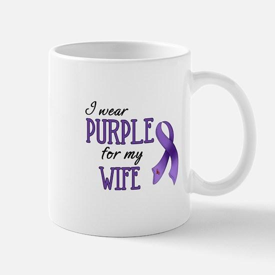 Wear Purple - Wife Mug