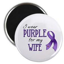 Wear Purple - Wife Magnet
