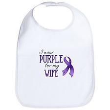 Wear Purple - Wife Bib