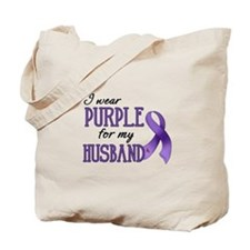 Wear Purple - Husband Tote Bag