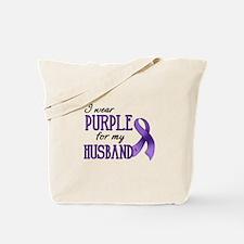 Wear Purple - Husband Tote Bag