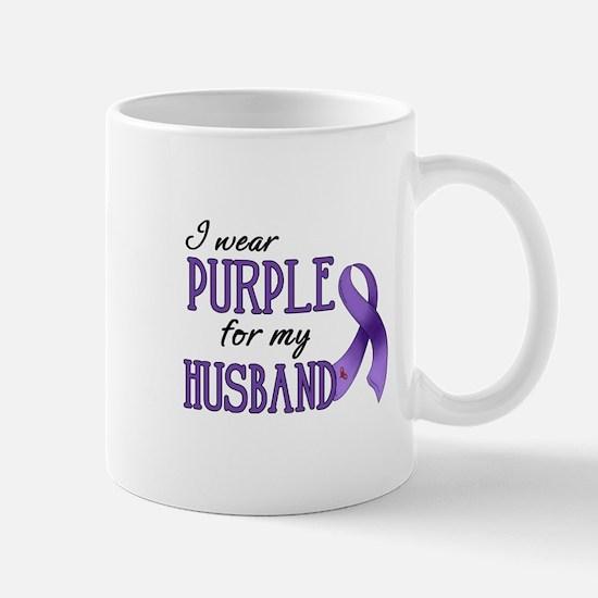 Wear Purple - Husband Mug