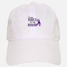Wear Purple - Husband Baseball Baseball Cap