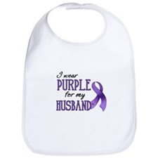 Wear Purple - Husband Bib