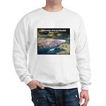 Florida Manatee Photo (Front) Sweatshirt