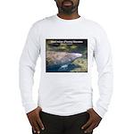 Florida Manatee Photo (Front) Long Sleeve T-Shirt