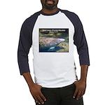 Florida Manatee Photo (Front) Baseball Jersey