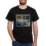 Florida Manatee Photo (Front) Black T-Shirt