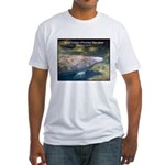 Florida Manatee Photo (Front) Fitted T-Shirt