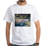 Florida Manatee Photo White T-Shirt