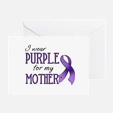 Wear Purple - Mother Greeting Card