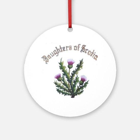 Daughters of Scotia Ornament (Round)