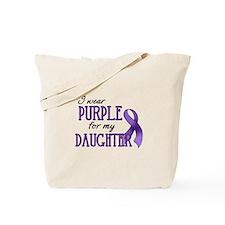 Wear Purple - Daughter Tote Bag