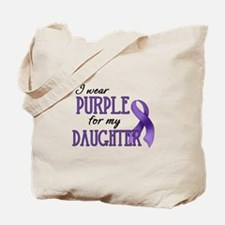 Wear Purple - Daughter Tote Bag