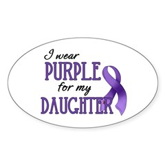 Wear Purple - Daughter Decal