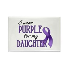 Wear Purple - Daughter Rectangle Magnet