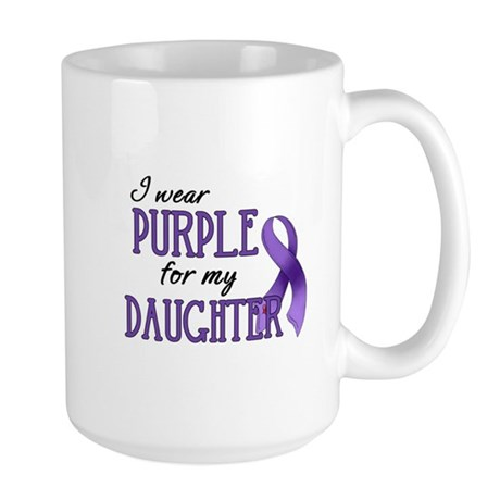 Wear Purple - Daughter Large Mug