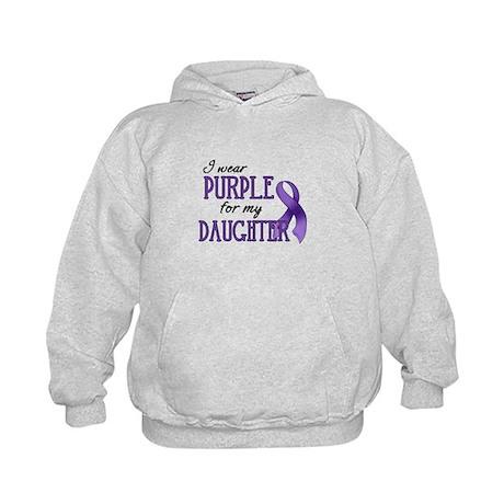Wear Purple - Daughter Kids Hoodie