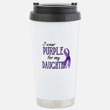 Wear Purple - Daughter Stainless Steel Travel Mug