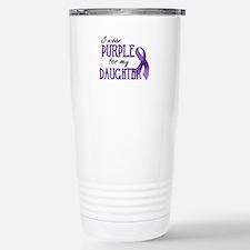 Wear Purple - Daughter Stainless Steel Travel Mug