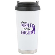 Wear Purple - Daughter Travel Mug