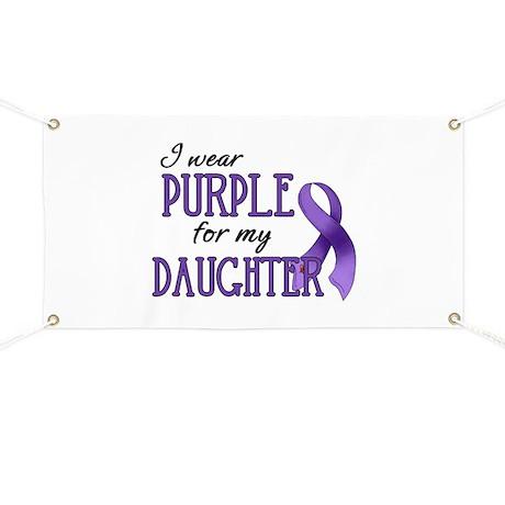 Wear Purple - Daughter Banner