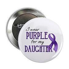"""Wear Purple - Daughter 2.25"""" Button"""