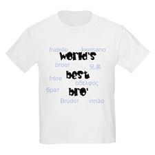 World's Best Bro' Kids T-Shirt