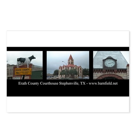 Erath County Postcards (Package of 8)